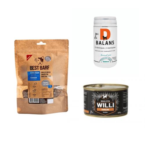 Koiran ruokinta ja lisäravinteet